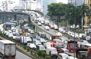 Salah Satu Kemacetan DiJakarta